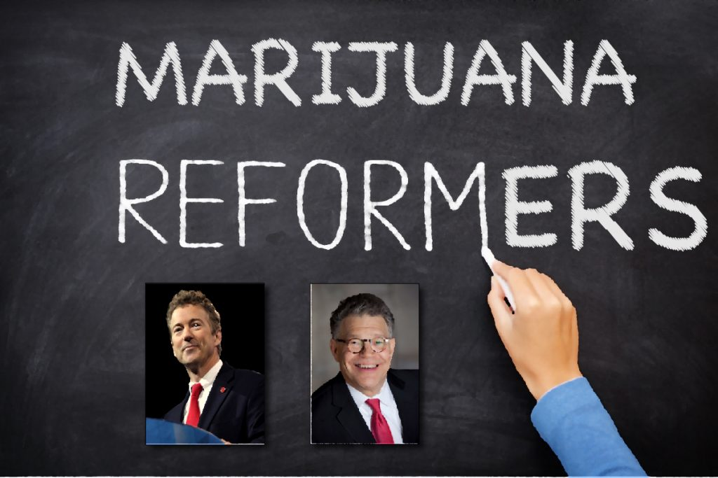 Senators Rand Paul, Al Franken Introduce Major Marijuana Reform, CBD Medical Journal